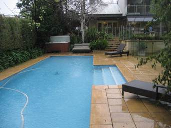 Peace of mind home inspections building inspection - Swimming pool inspection services ...